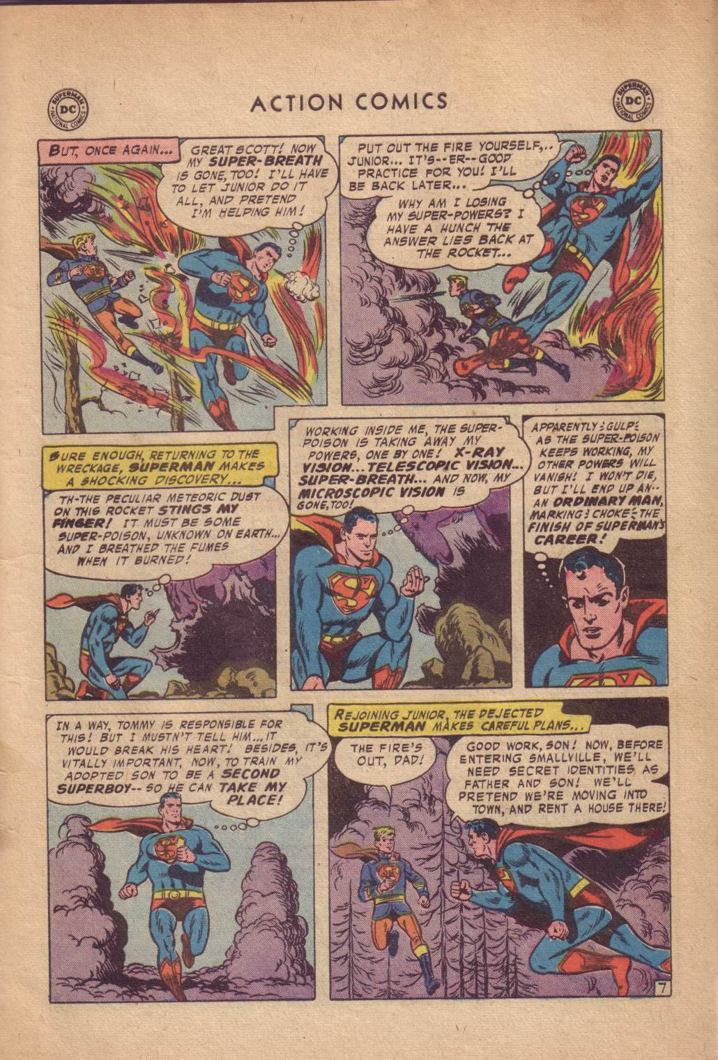 Read online Action Comics (1938) comic -  Issue #232 - 9