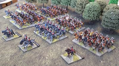 15mm Project Minden - British Cavalry Complete