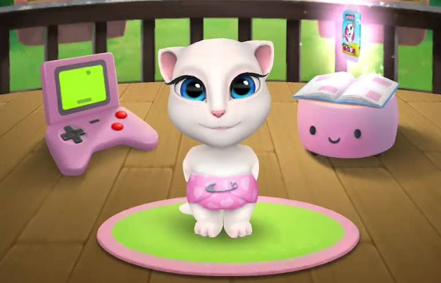 Download Game My Talking Angela Mod tiền cho Android