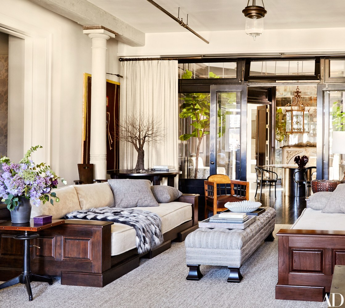 Apartment Living Room: {Decor Inspiration} Meg Ryan's Chic New York Apartment