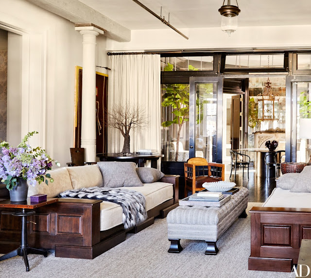 Decor Inspiration: Meg Ryan's Chic New York Apartment