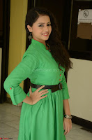 Geethanjali in Green Dress at Mixture Potlam Movie Pressmeet March 2017 046.JPG