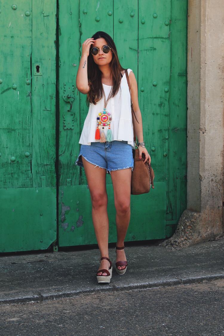 outfit verano bolso parfois blog de moda