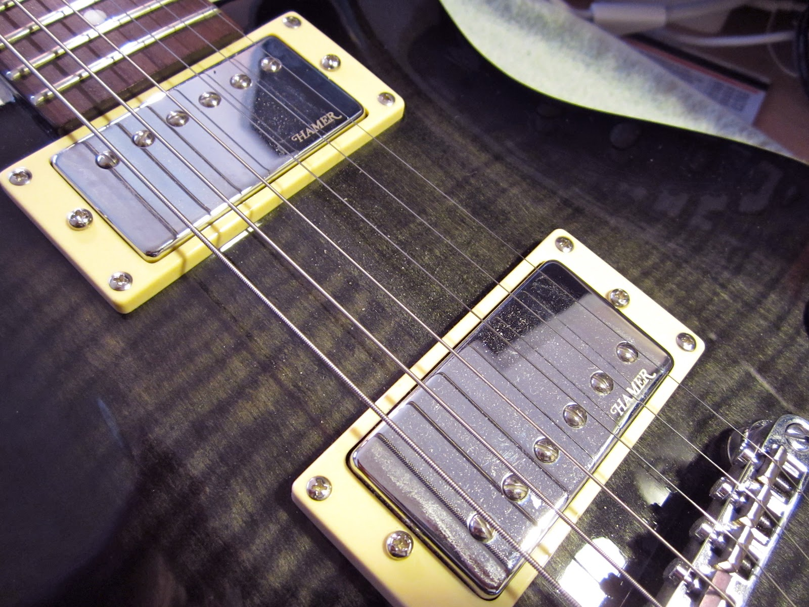 The Harvard Experiments Project 2 Pickup Replacement Hamer Xt Used Gibsonstyle Humbucking Set W Wiring Pots Switch And These Pickups Gotta Go