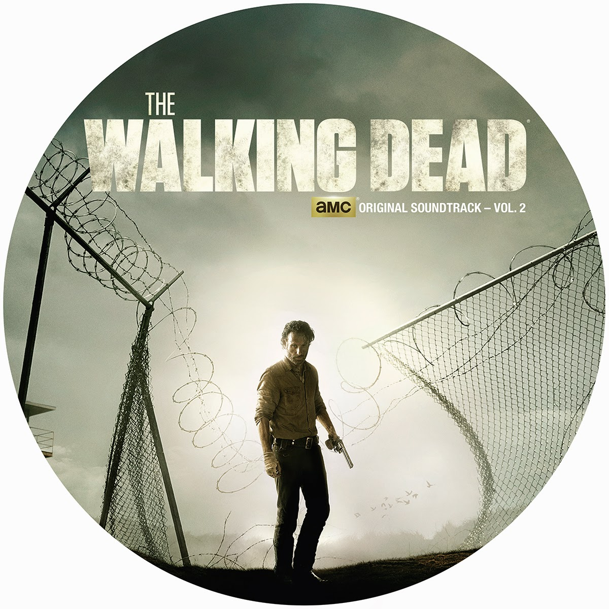 Record Store Day 2015 Exclusive The Walking Dead Original Soundtrack Volume 2 Picture Disc Vinyl Record by SPACELAB9