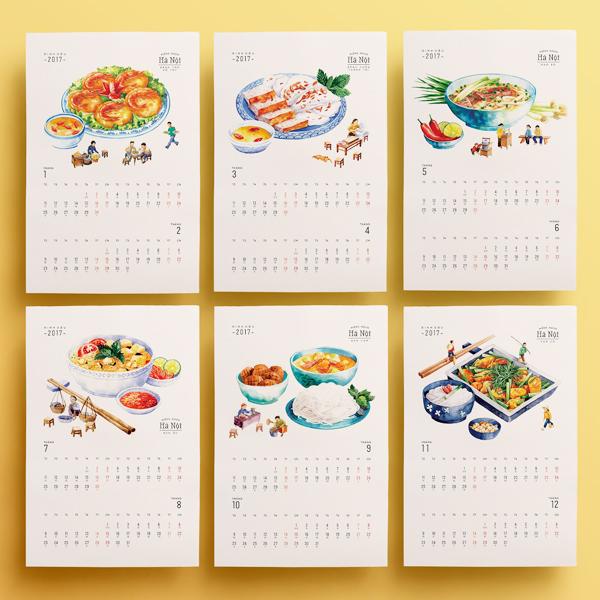 In lịch doanh nghiệp - xây dựng hình ảnh bằng việc tặng lịch năm mới