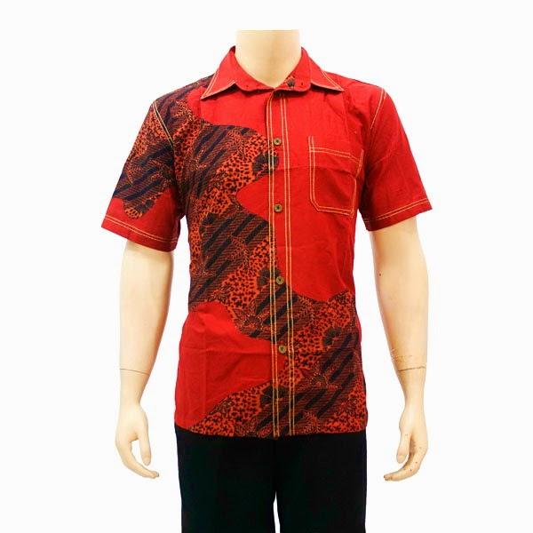 Contoh Gambar Baju Batik Modern: Foto Contoh Baju Batik Pria Jangkis Terbaru Model Dan Gambar