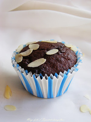Csokoládés banános muffin