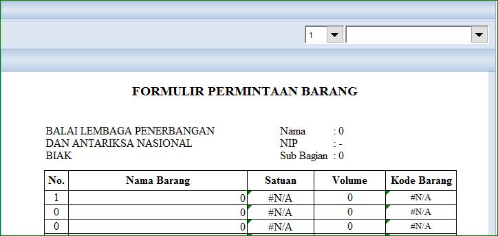 Aplikasi Excel Persediaan Dan Permintaan Barang Versi 2 Abi