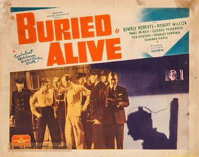 Carátula dvd: Enterrado vivo (1939) Buried Alive
