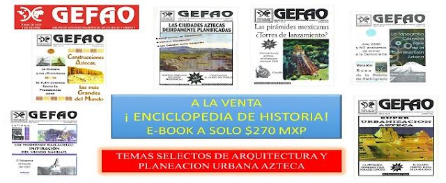 Enciclopedia de historia de México Antiguo. Casa editorial GEFAO