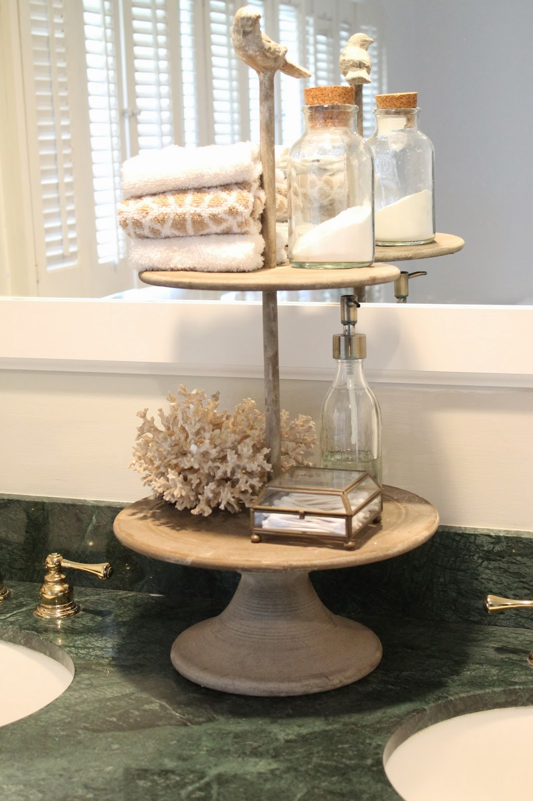 Bathroom Vanity Accessories The Picket Fence Projects Counter Clutter