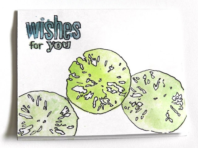 fruit stamped card