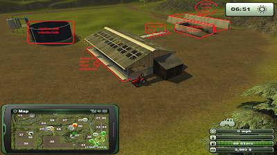 Farming Simulator 2013 - Game Screenshot - feeding cows