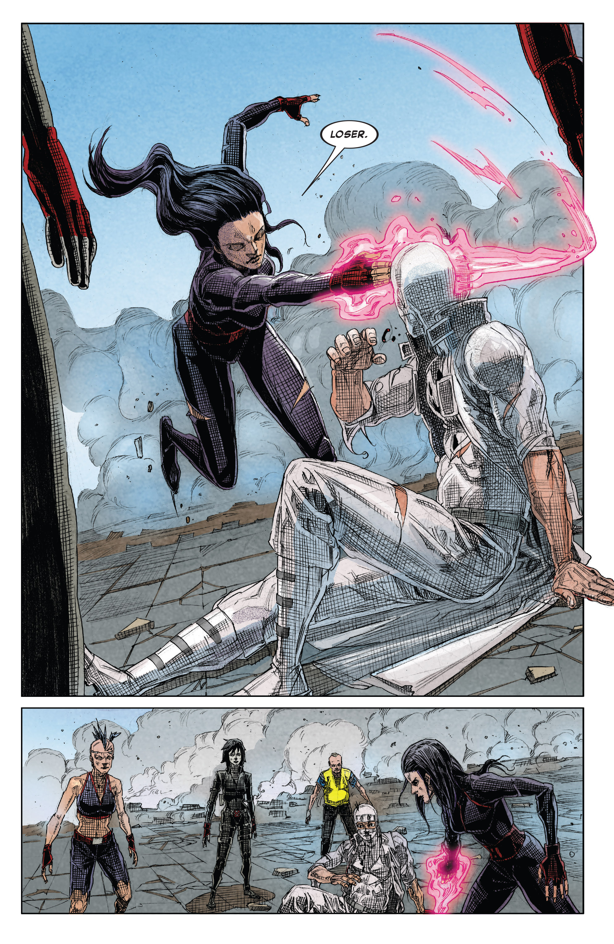Read online X-Force (2014) comic -  Issue #15 - 17