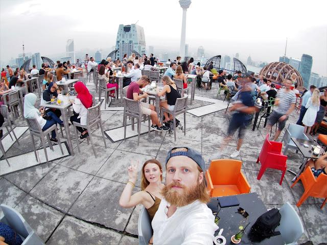 Roof Top Bar in Kuala Lumpur