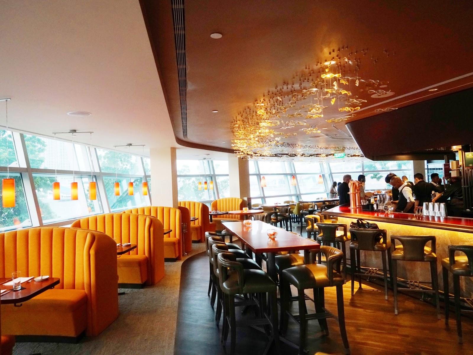 Pinkypiggu Usquba Scottish Restaurant Bar At One Fullerton Good