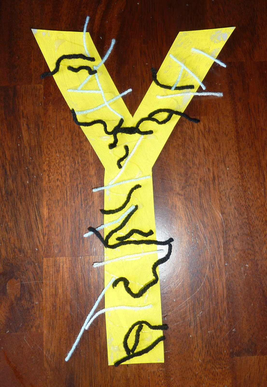 Life With A Toddler Tot School Y Is For Yarn And Yellow
