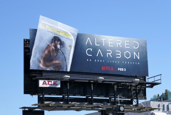 Altered Carbon special extension billboard