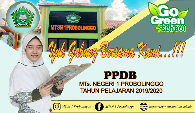 PPDB MTsN 1 Probolinggo Tahun Pelajaran 2019/2020
