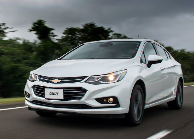 Novo GM Cruze 2017: configurador on-line