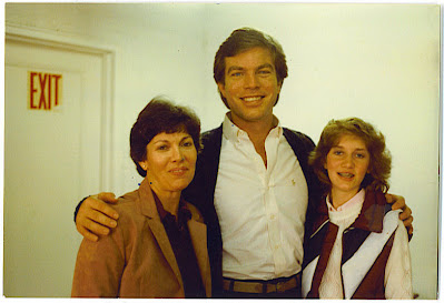 Leigh Powell Hines with Peter Bergman as a child
