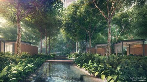Riverfront Residences - Garden