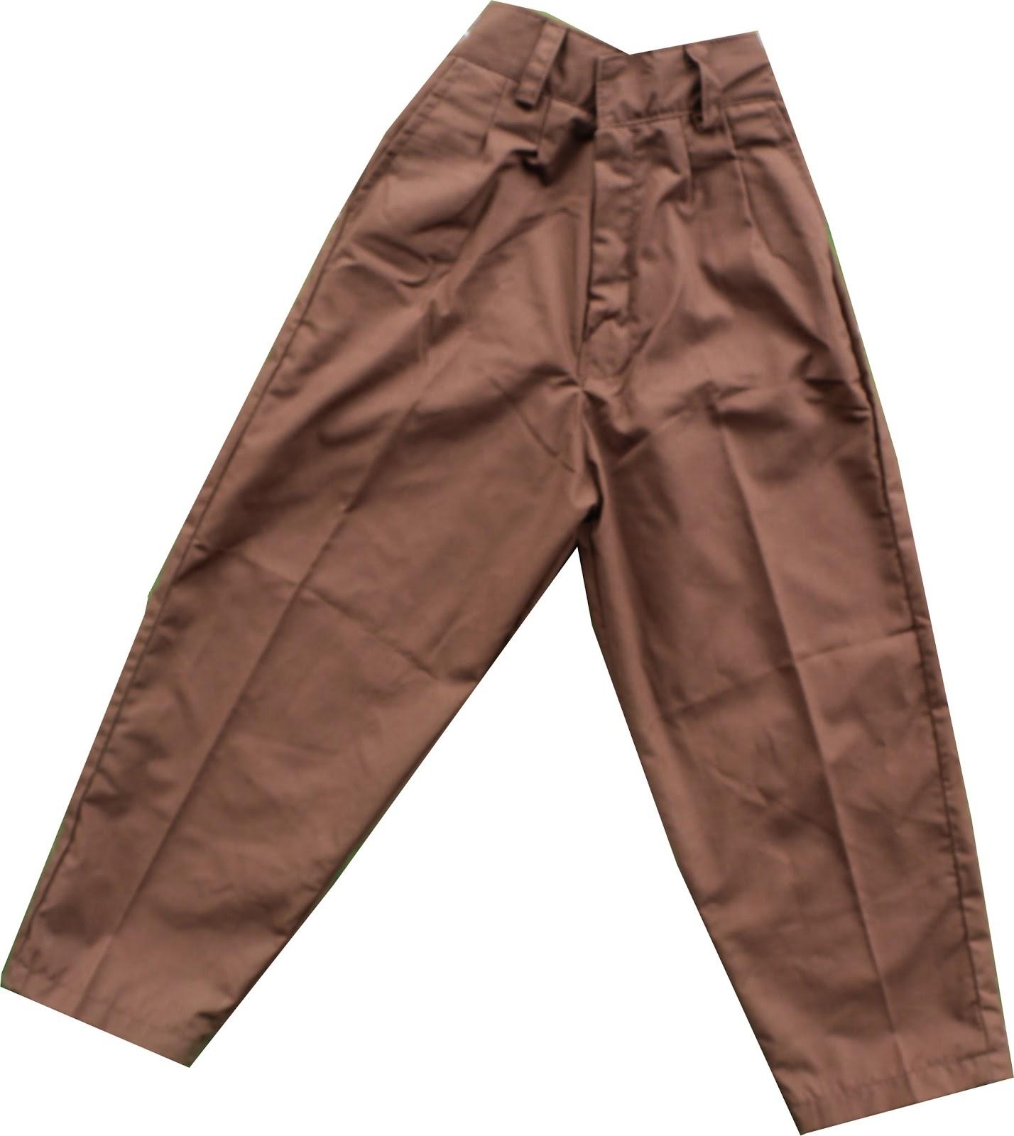 Celana Pramuka Panjang SD uk 12,13