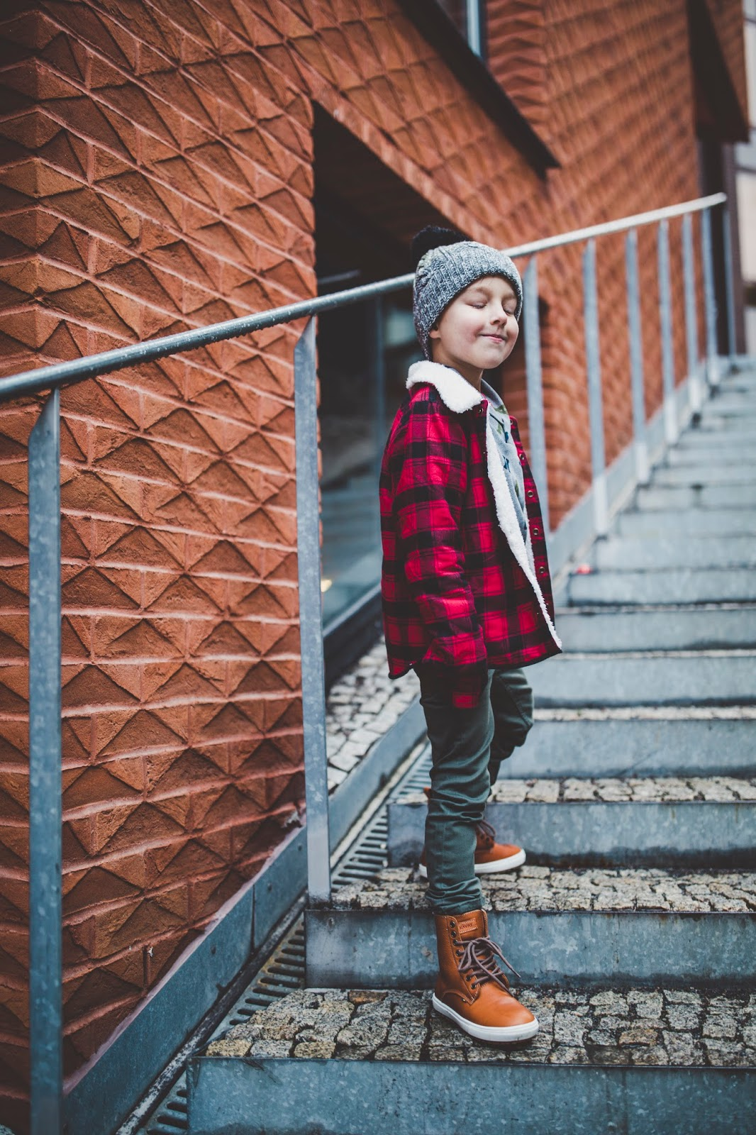kids boys winter style outfit