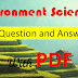 Environment Science General Knowledge Question and Answer in Bengali