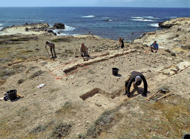 Excavation and survey of the ancient port landscape at the Akrotiri-Dreamers Bay