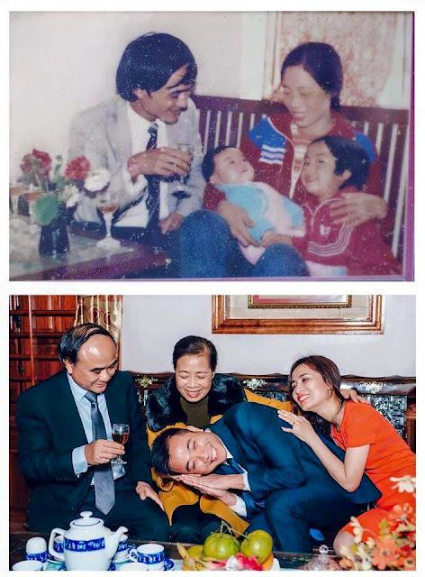 foto unik keluarga yang tidak berubah momennya setelah puluhan tahun-4