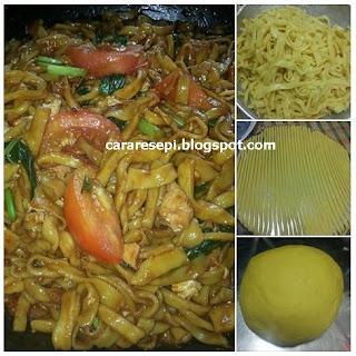 Resepi Mee Kuning Homemade