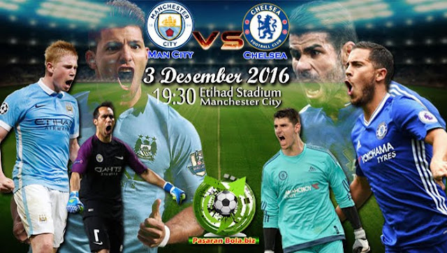 Manchester City x Chelsea (3/12/2016)- Horário, data, prognóstico e TV (Premier League)