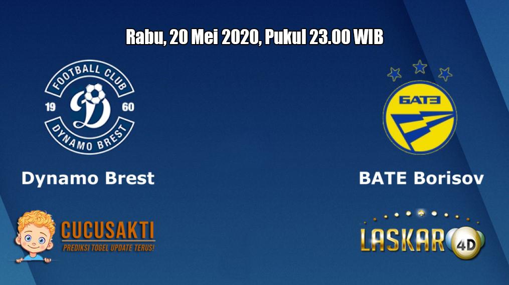 Prediksi Dynamo Brest VS BATE Borisov 20 Mei 2020