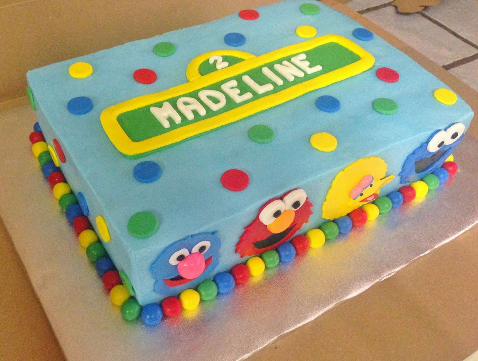 Cakes By Mindy Sesame Street Cake 9 Quot X 13 Quot