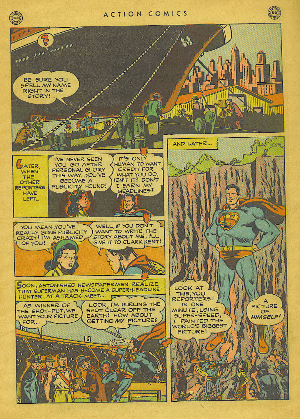 Action Comics (1938) 136 Page 3