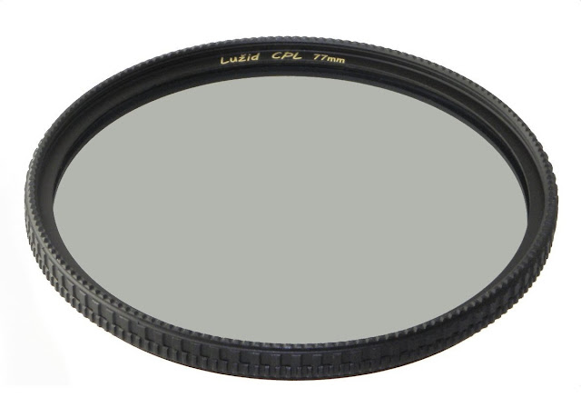 LUŽID Circular Polarizer 77 mm filter