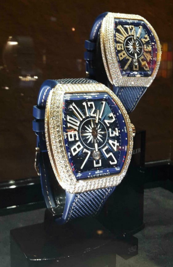 Franck Muller skeleton gravity