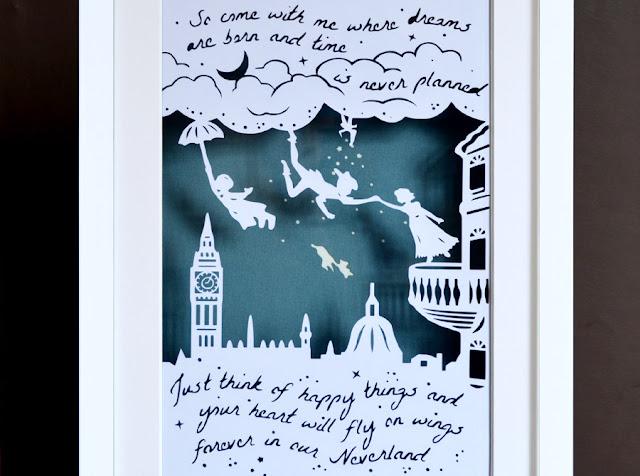 Neverland papercut