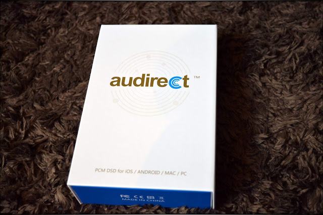 Audirect Whistle DAC/AMP Unit, White Package, new, cardboard package with Audirect's logo on display