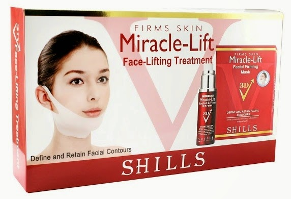 Shills Miracle Lift Facial Firming Mask, SHILLS Miracle Lift Beauty Workshop, shills, anosa, dot dot, miracle lift