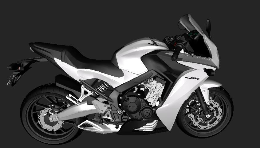 Gta San Andreas Honda Cbr650 2015 L3d Mods