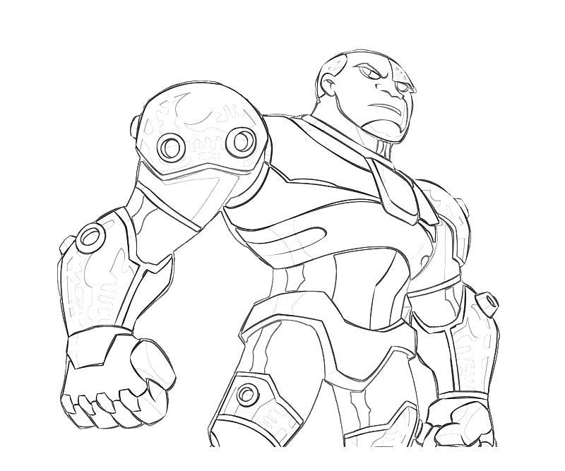 Injustice Gods Among Us Cyborg Armor Mario