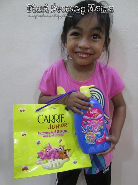 Mari Sertai Carrie Junior Menggalakkan Gaya Hidup Aktif Dikalangan Kanak-Kanak