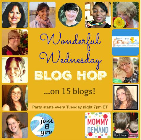 Wonderful Wednesday Blog Hop #60