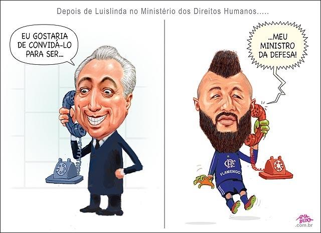 SOBRE MINISTROS E MURALHAS