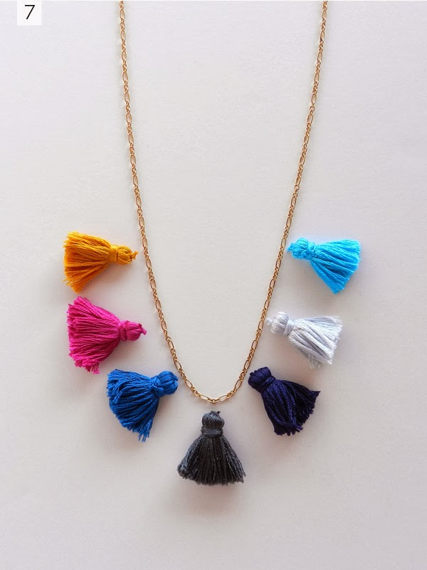 Finest DIY: TASSEL NECKLACE | SAS+ROSE OV79