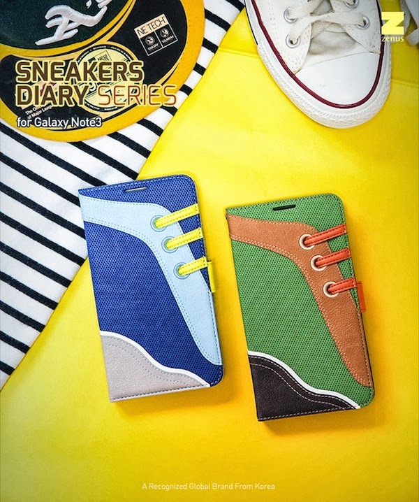 Sneakers Diary Case