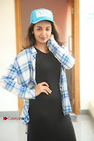 Actress Tejaswi Madivada Stills in Balck Long Dress at Babu Baga Busy Movie Interview  0032.jpg